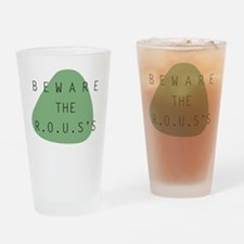 beware the ROUS Drinking Glass