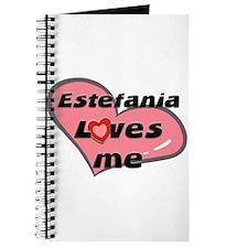 estefania loves me Journal
