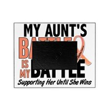 My Battle Too Aunt Uterine Cancer Picture Frame