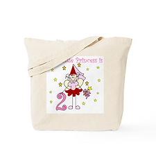 Fairy Princess 2nd Birthday Tote Bag