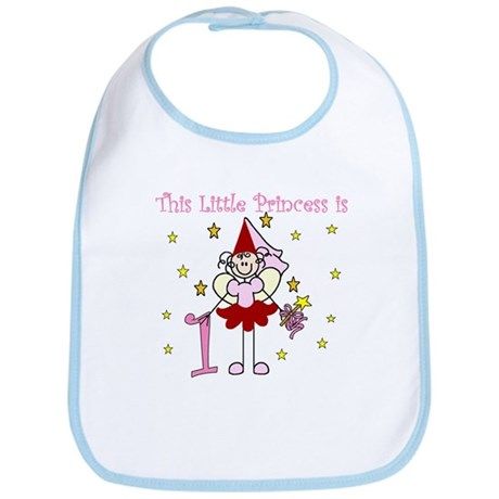 Fairy Princess 1st Birthday Bib