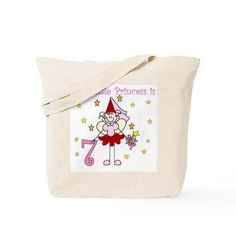 Fairy Princess 7th Birthday Tote Bag