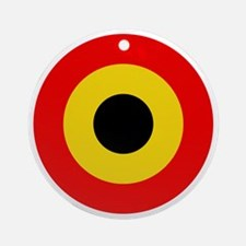 Belgian Air Force Roundel Round Ornament