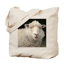Shetland Ewe sheep makes a baa sound.  Tote Bag