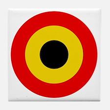 Belgian Air Force Roundel Tile Coaster
