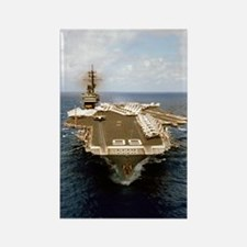 uss america cv small poster Rectangle Magnet