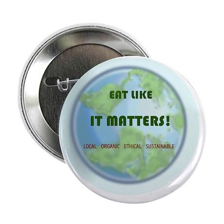 "Eat Like It Matters 2.25"" Button"