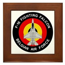 F-16 Fighting Falcon - Belgian Air For Framed Tile
