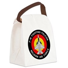F-16 Fighting Falcon - Belgian Ai Canvas Lunch Bag