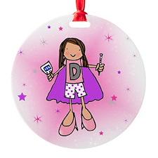 D-Girl Ornament