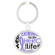 Boyfriend Oval Keychain