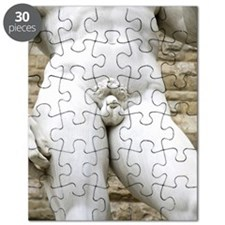 Michelangelo's David, midriff, Florence Puzzle
