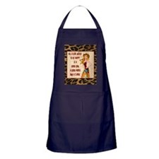 All A Cowgirl Needs Apron (dark)