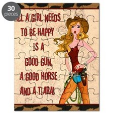 All A Cowgirl Needs Puzzle