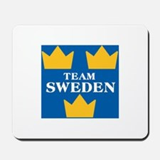 Team Sweden 2 Mousepad