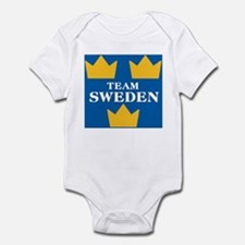 Team Sweden 2 Infant Bodysuit