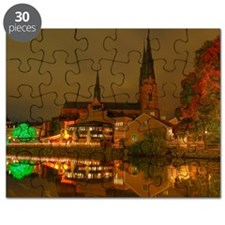 Autumn night in Uppsala Puzzle