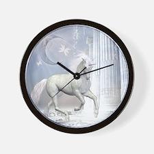 wu2_shower_curtain Wall Clock