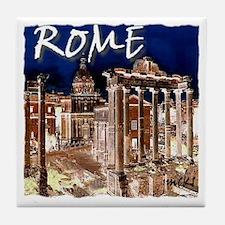 Ancient Rome Tile Coaster