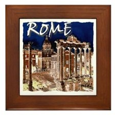 Ancient Rome Framed Tile