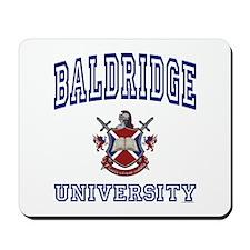 BALDRIDGE University Mousepad