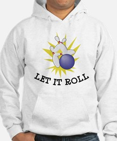 Let It Roll Bowling Hoodie