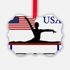 Gymnastics Team USA Ornament