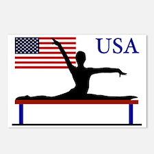 Gymnastics Team USA Postcards (Package of 8)