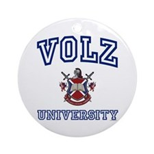 VOLZ University Ornament (Round)