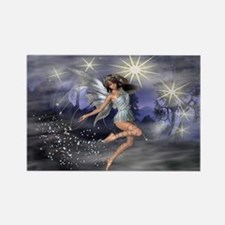 Twilight Fairy Rectangle Magnet