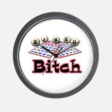Bingo Bitch Wall Clock