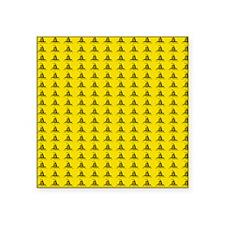 """queen Square Sticker 3"""" x 3"""""""