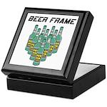 Beer Frame Bowling Keepsake Box