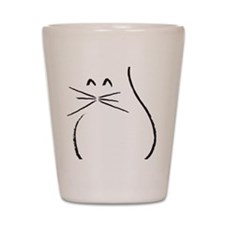 Kitty Cat Shot Glass