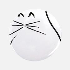 "Kitty Cat 3.5"" Button"