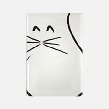 Kitty Cat Rectangle Magnet