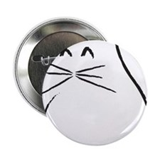 "Kitty Cat 2.25"" Button"