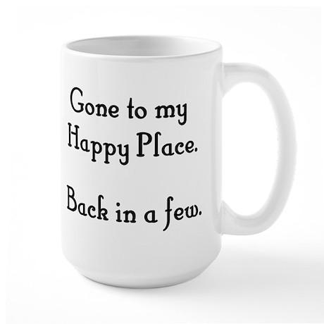 Happy Place Large Mug