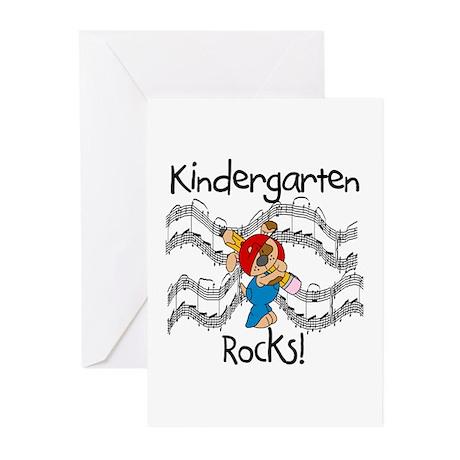 Kindergarten Rocks Greeting Cards (Pk of 10)