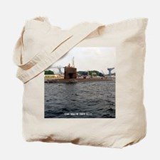 uss drum small poster Tote Bag