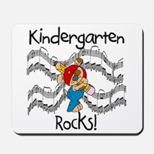 Kindergarten Rocks Mousepad