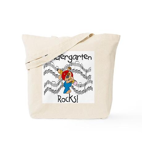Kindergarten Rocks Tote Bag