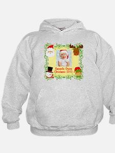 Customize Baby's Christmas Hoodie