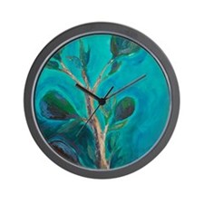 The Fig Branch- top portion Wall Clock