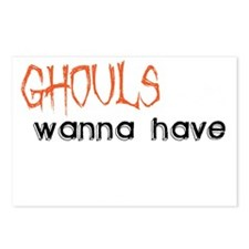 Ghouls just wanna have fu Postcards (Package of 8)