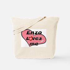 enzo loves me Tote Bag