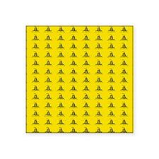 "king duvet Square Sticker 3"" x 3"""