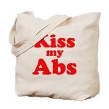 Kiss my Abs Tote Bag