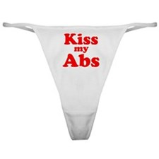 Kiss my Abs Classic Thong