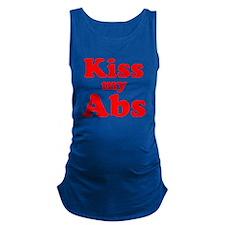 Kiss my Abs Maternity Tank Top
